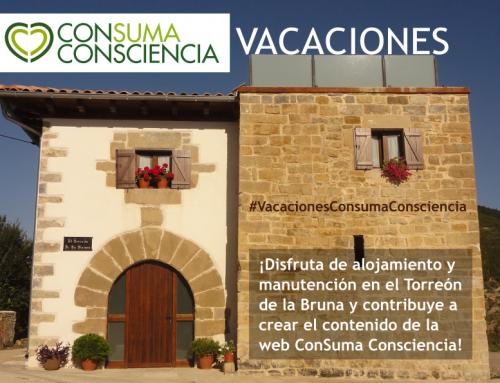 Torreón de la Bruna landetxean eginen dira kontsumo kontzienteari buruzko Vacaciones ConSuma Consciencia izeneko jardunaldia