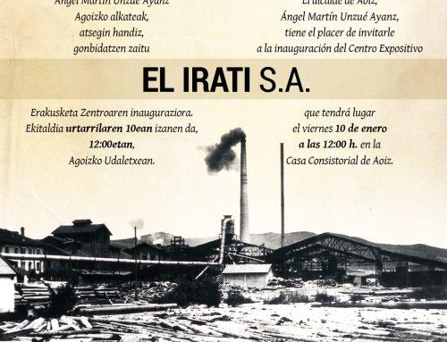 Joan den mendeko Pirinioetako industria-garapenaren ikurra den El Irati SA Erakusketa Zentroaren inaugurazioa.