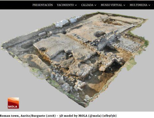 Paseo birtuala Zalduako erromatar aztarnategian barrena, Nafarroako Pirinioetan.