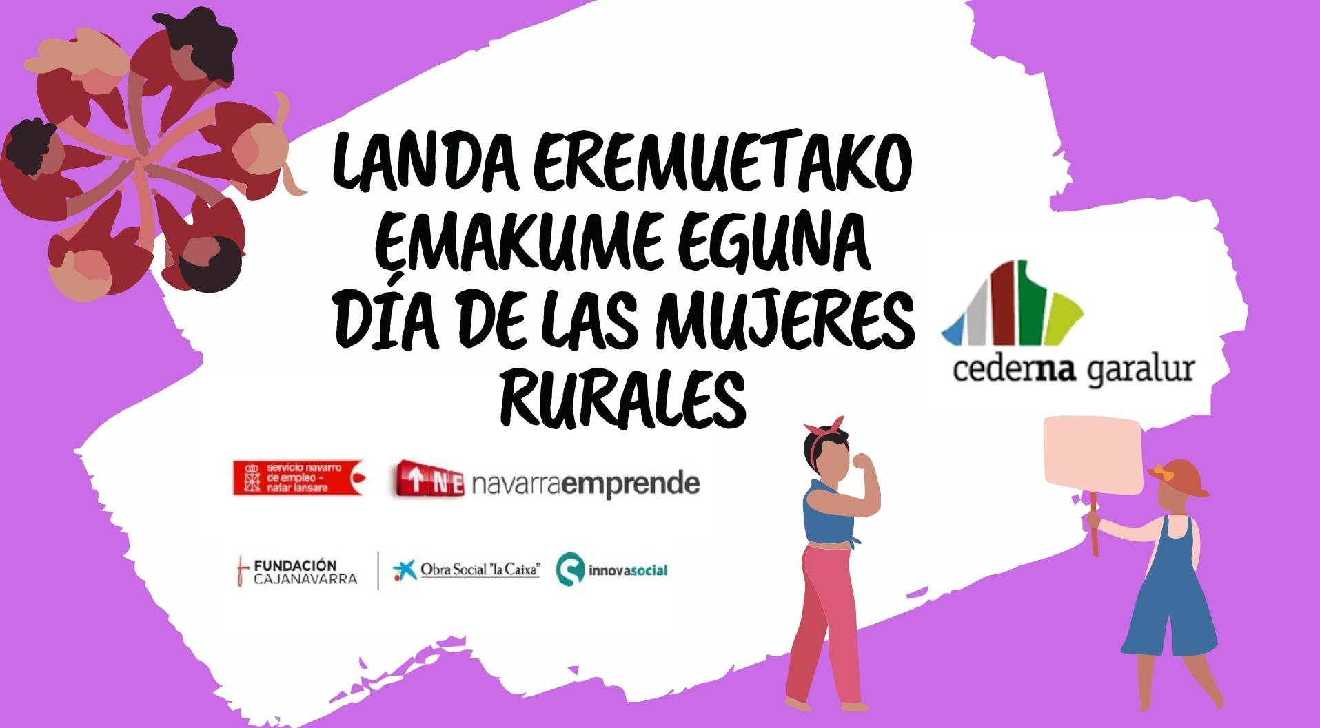 Cederna Garalur Elkarteak Landa Eremuko Emakumeen Nazioarteko Eguna ospatuko du Mendialdeko landa eremuko emakumeen omenezko bideo batekin.