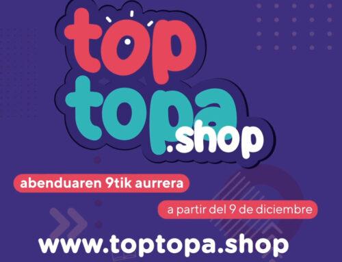 Cederna Garalur Elkarteak eta Denok Bat Elkarteak 'Top Topa' aurkeztu dute, Nafarroako Mendialdeko merkataritza-establezimenduen Market Placea.