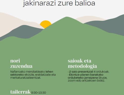 Cederna Garalur Elkarteak lehen sektoreko langileen balioa handitzeko lantegietan izena emateko deialdia ireki du.