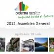 Asamblea General de Cederna Garalur 2012. Presentación del Plan de trabajo para el año 2012