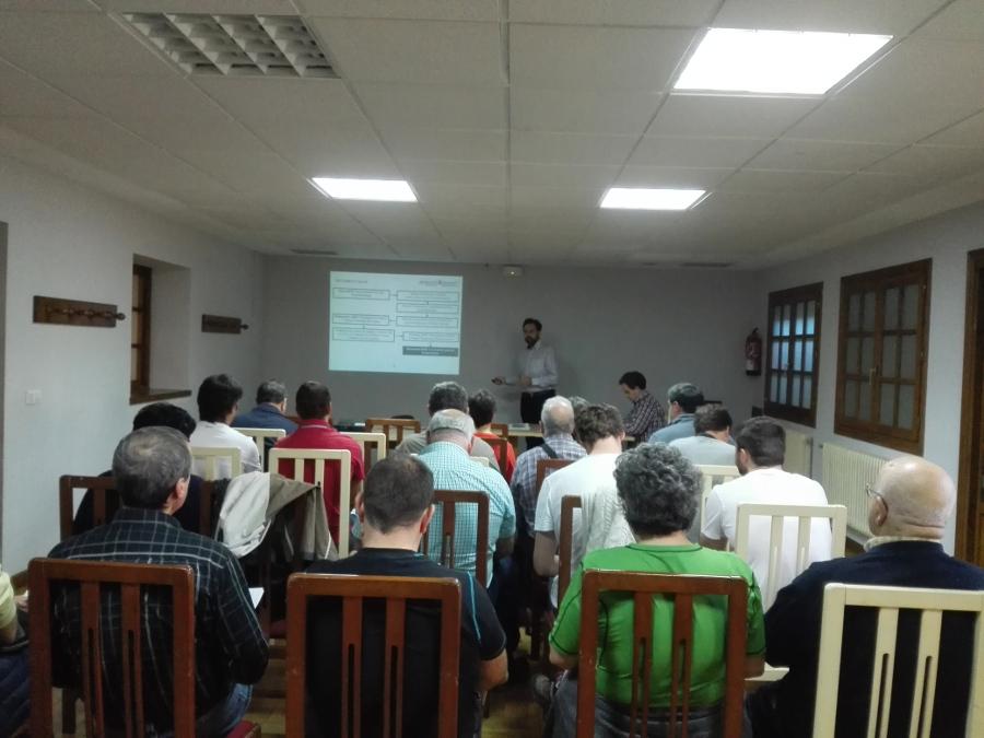 Cederna Garalur organiza el segundo foro de participación del plan de renovación del sistema de transporte público interurbano en la comarca de Baztan-Bidasoa.