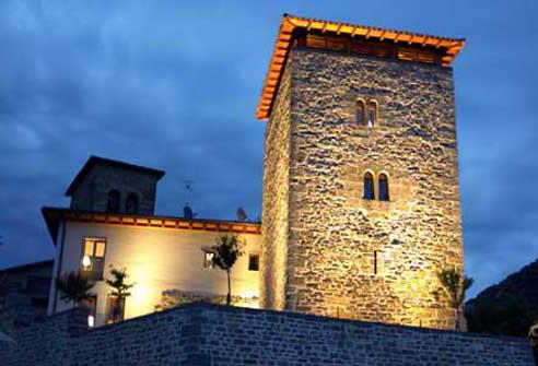 96 establecimientos de la Montaña de Navarra distinguidos con el sello de Compromiso de Calidad Turística en 2016.