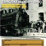 """Éxito de visitantes a la exposición  del """"Centenario del Tren Txikito"""""""