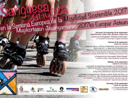 Sangüesa celebra la Semana Europea de la Movilidad