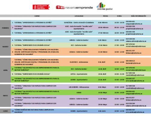 Cederna Garalur programa 15 cursos dirigidos a empresas para el primer semestre del año