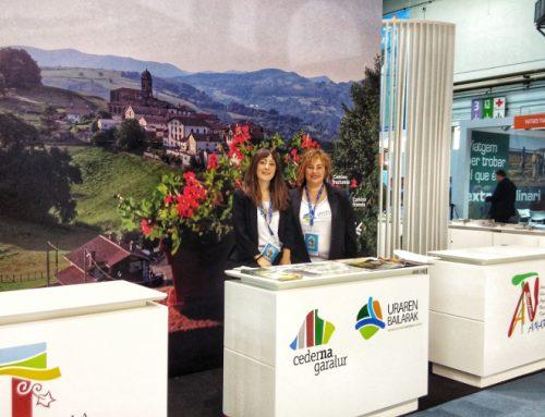 Uraren Bailarak participa en B-travel, salón de turismo de experiencias de Barcelona