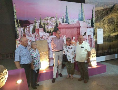 """Inaugurada la exposición """"Santa Criz de Eslava, Reflejos de Roma en Territorio Vascón"""""""