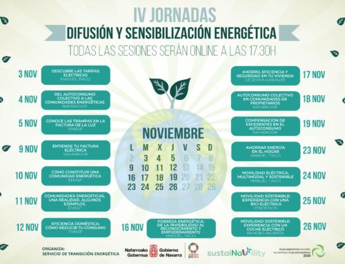 Cederna Garalur presenta una charla online sobre ahorro y eficiencia energética en las viviendas el 17 de Noviembre.