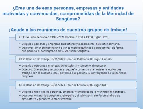"""Primera convocatoria de los Grupos de Trabajo de """"Tejiendo la despensa"""""""