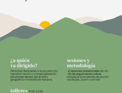 Cederna Garalur abre la convocatoria para apuntarse a los talleres de revalorización de personas trabajadoras del primer sector.