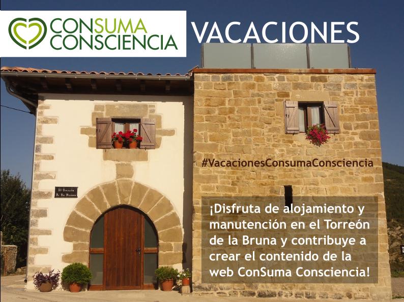 El Torreón de la Bruna acoge las primeras Vacaciones ConSuma Consciencia, sobre consumo consciente