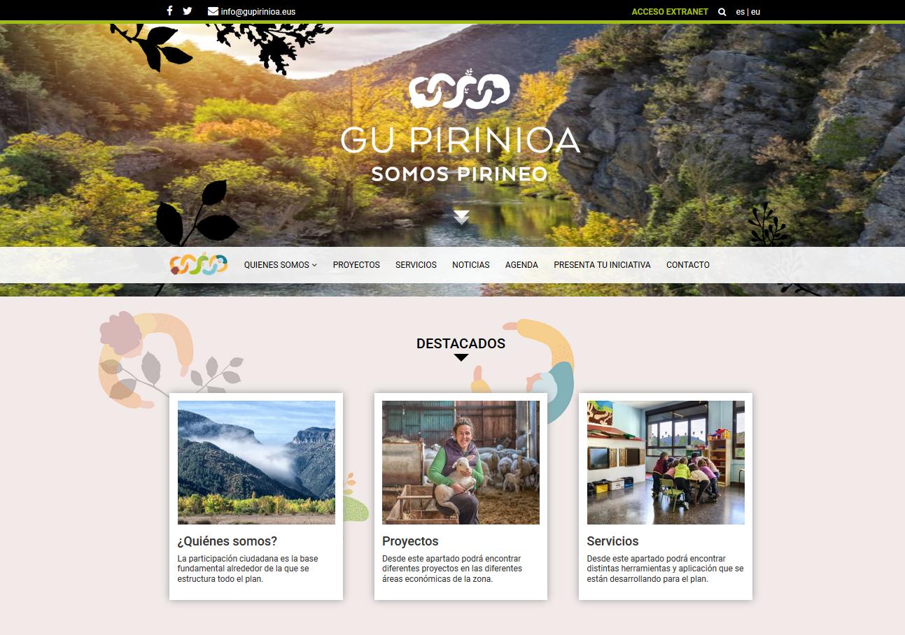 El Plan del Pirineo cuenta ya con su propia página web