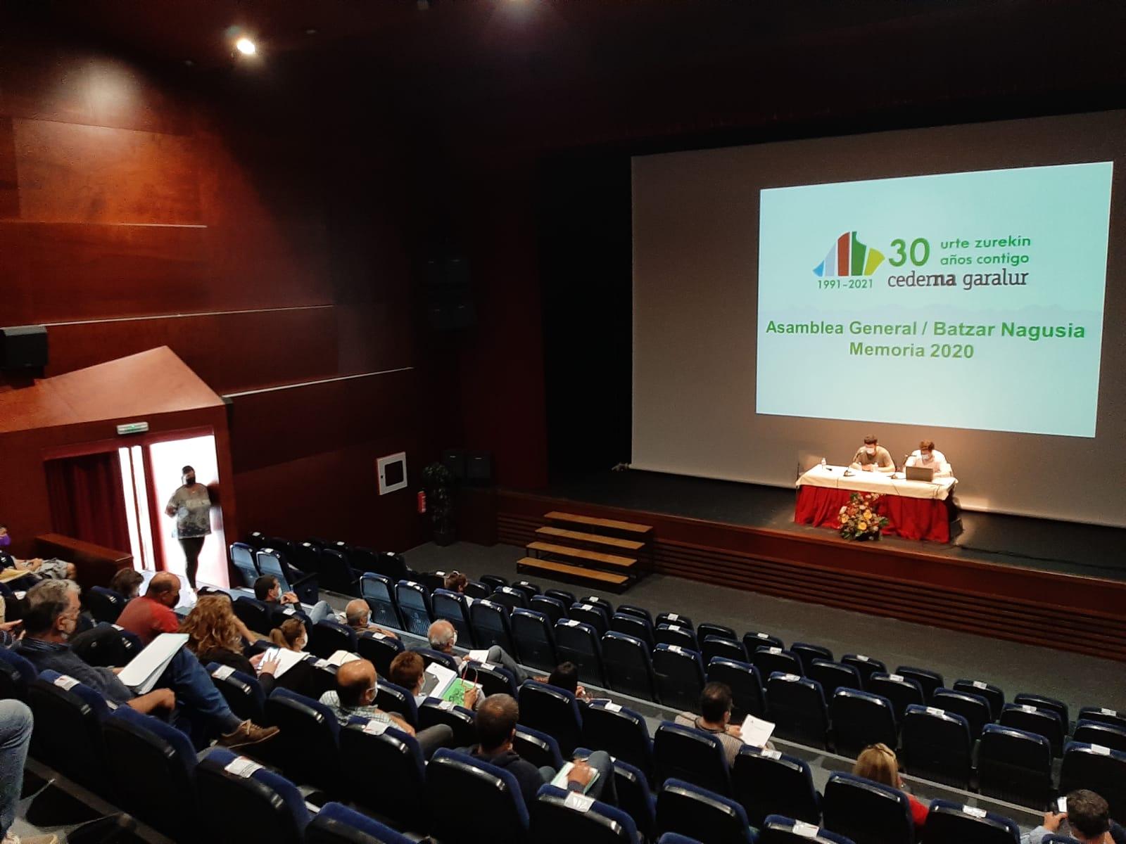 La Asamblea de Cederna Garalur impulsa nuevos proyectos en la Montaña de Navarra.